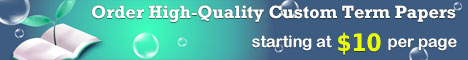 Custom Term Paper on Total Quality Management